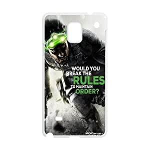 Samsung Galaxy Note 4 Cell Phone Case White Splinter Cell Blacklist Your Rules Your Way SLI_781156