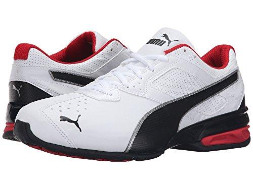 [PUMA(プーマ)] メンズランニングシューズ?スニーカー?靴 Tazon 6 FM Puma White/Puma Black 7 (25cm) D - Medium