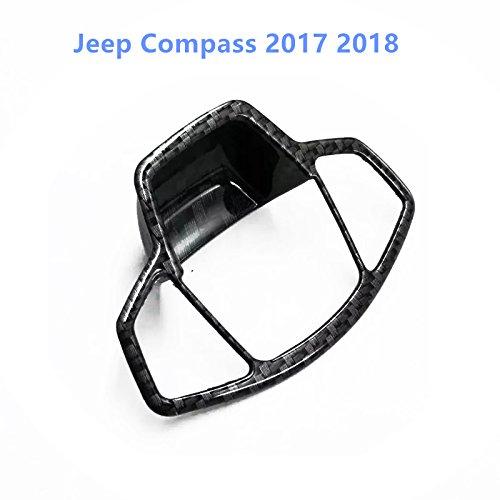 per Compass Seconda generazione 2017 2018 ABS nero Freno di stazionamento Rifiniture interne