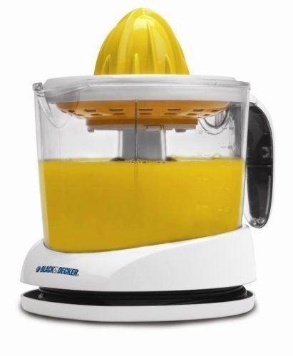 (blanco) eléctrica fruta zumo de naranja Exprimidor Prensa Exprimidor de limones por eléctrico California: Amazon.es: Hogar