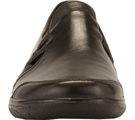 Ace Walking Burnis Frauen Black Leder Cradles Loafers qqHFwOEU