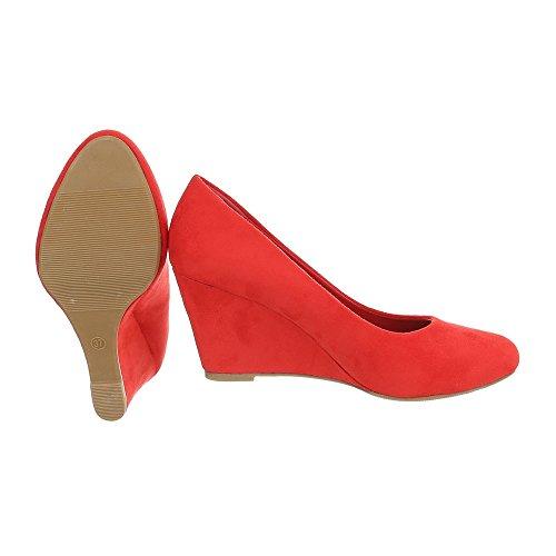Ital-Design - Plataforma Mujer Rot EK-94