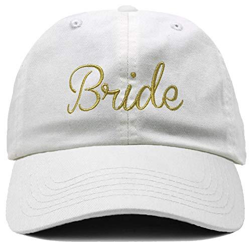 H-214-BRIDE0902 Bridal Dad Hat Unconstructed Baseball Cap - Bride -