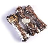 Pet 'N Shape - Made In The Usa - Jumbo Smoked Beef Shin Bones 100-Percent Natural Dog Chews