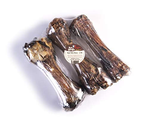 - Pet 'N Shape - Made In The Usa - Jumbo Smoked Beef Shin Bones 100-Percent Natural Dog Chews