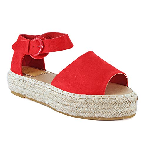 (Guilty Heart Moira-10 Red Suede 8)