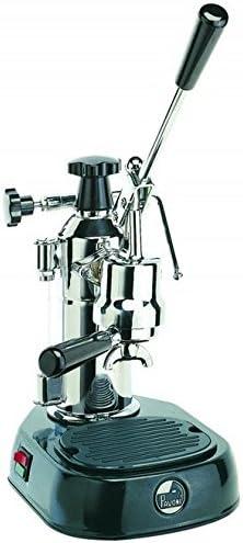 La Pavoni EN - Cafetera de espresso manual, color negro y gris ...