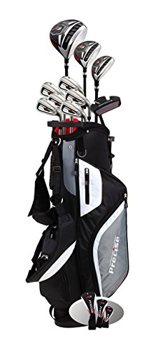 Top Line Men's  M5 Golf Club Set , Left Handed Only, Includes Driver, Wood, Hybrid, 5, 6, 7, 8, 9,...