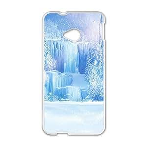 Happy Charming Blue Disney Frozen Design Best Seller High Quality Phone Case For HTC M7