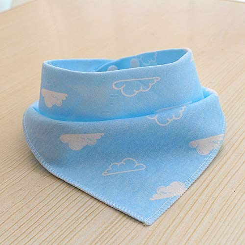 Ushuaia Dog Bandana Baby Announcement -Dog Hankerchiefs for Boy -Double Snap Fasteners Newborn Baby Bibs Dog Rabbit Ear Pattern Bandana Bib for Baby Infant Adjustable Child Saliva Towels Scarf
