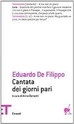 Cantata Dei Giorni Pari (Italian Edition)