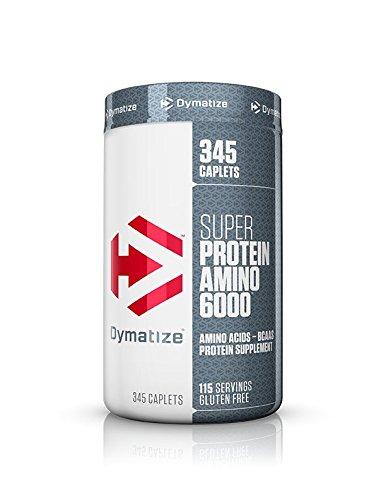 Dymatize Super Protein Amino 6000, 345 Caplets Super Amino Acids