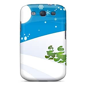 Excellent For SamSung Note 3 Case Cover Hard Back Skin Protector Simple Christmas Snow World