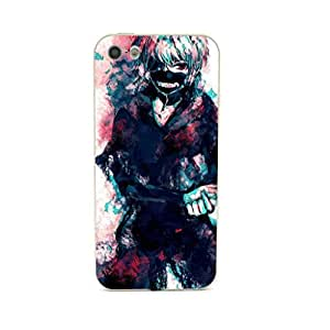CaseCityLiu - Pattern2 Tokyo Ghoul Jin Muyan Cartoon Design Gold Bumper Metal Frame Full Armor Protect Case Cover for Apple iPhone 5 5s 5th 5g 5Generation