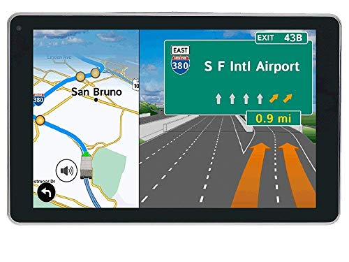 Rand McNally - OverDryve 7 Pro Truck Navigation with 7in Display, Bluetooth & SiriusXM (Renewed)