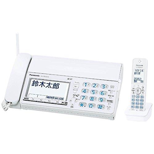 パナソニック デジタルコードレス普通紙ファクス(子機1台付き) ホワイトPanasonic おたっくす KX-PZ610DL-W   B071ND65X8