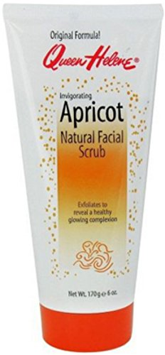 Queen Helene Apricot (QUEEN HELENE Natural Facial Scrub, Invigorating Apricot 6 oz)