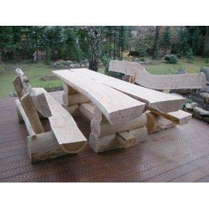 rustikale sitzgarnitur aus nadelholz deutsche handwerksqualit t 2 50m l nge sitzkapazit t. Black Bedroom Furniture Sets. Home Design Ideas