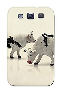 Cows Figurines Case Compatible With Galaxy S3/ Hot Protection Case(best Gift Choice For Lovers)