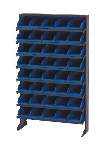 - Single Sided Pick Rack Storage Systems Bin Dimensions: 4