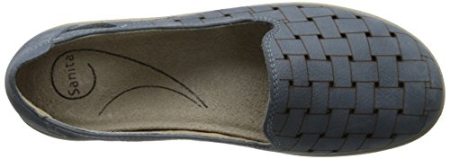 Slip-on Mocassino Da Donna Di Sanita Blu