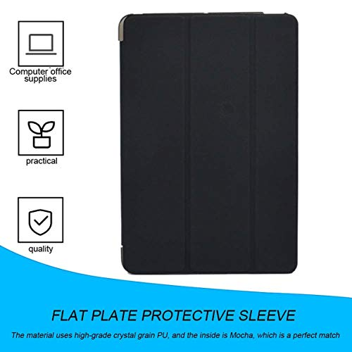 New Ultra Slim Tri-Fold PU Leather Case with Crystal Hard Back Smart Stand Case Cover for iPad mini 1 2 3 tablet Flip Cover (Difference Between Ipad Mini 1 And 2)