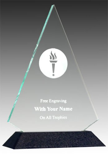 (QuickTrophy Victory Acrylic Triangle)
