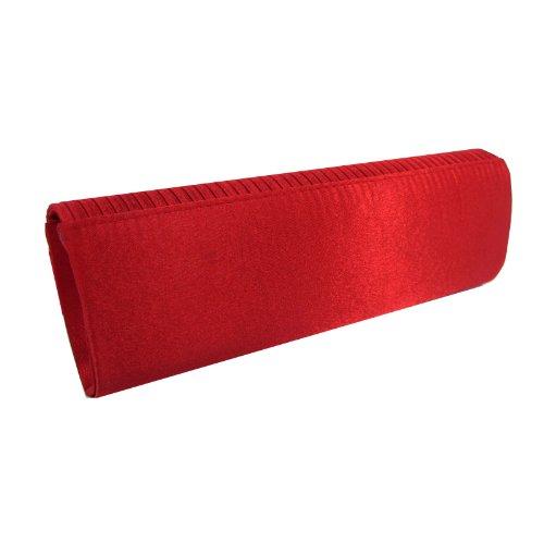 Just Lili, Poschette giorno donna Rosso rosso 26x12x4cm
