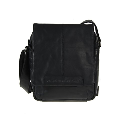 The Chesterfield Brand Richard Bolso de hombro piel 29 cm Black