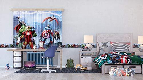 Indexbild 3 - AG Design Marvel Avengers Selbstklebende Bordüre, Wand Sticker, Folie,
