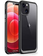 SUPCASE Hoesje voor iPhone 13 5.4 Inch 2021 Editie [UB Style] Hoesje voor iPhone 13 Transparant Schokbestendig Hoesje (Zwart)
