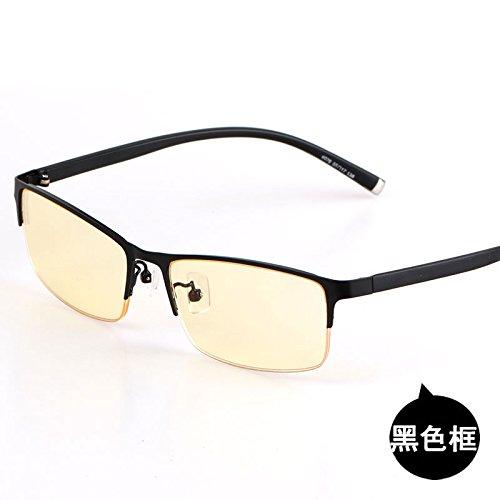 ordenador sol juegos contra luz KOMNY frame box media Box gafas business y Black colour de radiaciones azul señoras gafas de gun juegos de las Gafas CwY7z