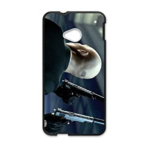 hitman absolution 3 HTC One M7 Cell Phone Case Black gift PJZ003-7541059