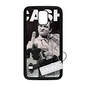 Johnny Cash Samsung Galaxy S5 I9600 DIY Case, Johnny Cash Custom Case for Samsung Galaxy S5 I9600 at WANNG