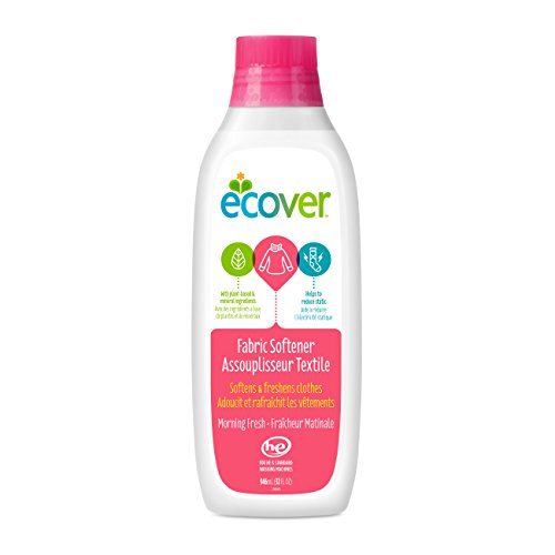 Ecover Fabric Softener Liquid, Morning Fresh, 32 Ounce (12 Pack)