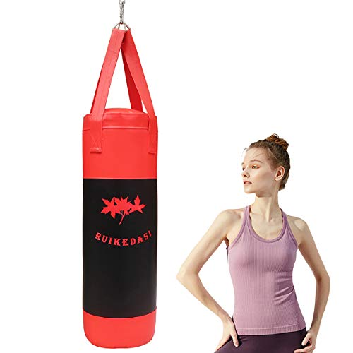Ruikedasi 40 Heavy Bag for Adults and Teenagers Boxing, Unfilled Bag (Punching Bag Can Hold Up to 80 Pounds of Filler…