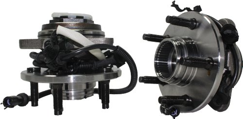 Brand New (Both) Front Wheel Hub and Bearing Assembly Mazda B4000, Ford Ranger 4x4 5 Lug Pulse Vacuum Lock Hub W/ABS [Auto Locking Hubs]