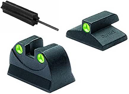 Meprolight The Mako Group ML19595 Magnum Research Jericho And Baby Eagle Tru-Dot® Night Sight Set + Ultimate Arms Gear Pro Disassembly 3/32 Pin Punch Armorers Gunsmith Tool