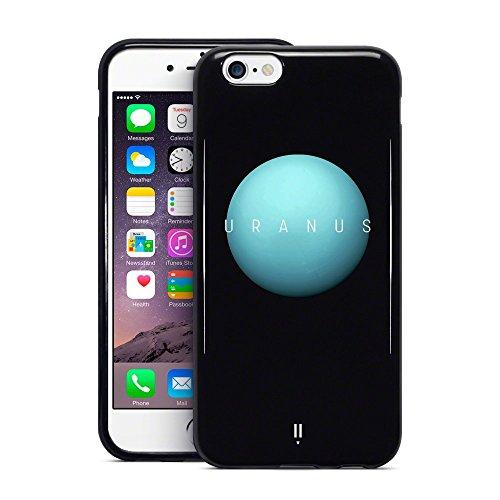 Call Candy 3d Imprimé Uranus Planet Collection pour Apple iPhone 6s Plus/6Plus–Noir