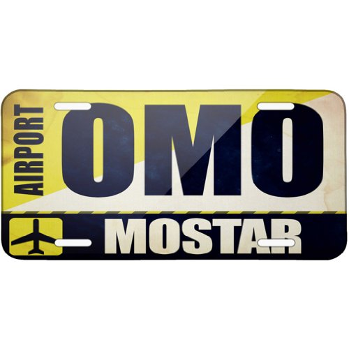 metal-license-plate-airportcode-omo-mostar-neonblond
