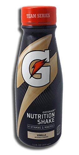 Gatorade Nutrition Shake 6 Count Now in Bottles (Vanilla)