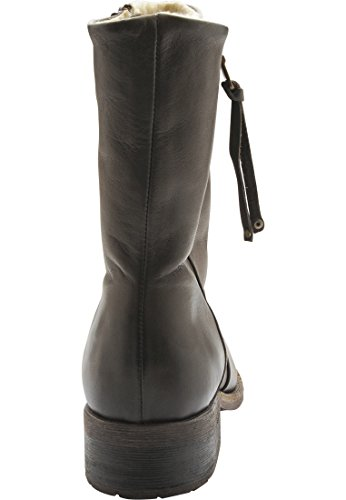 Bianco Dunkel Warm Boot Son15 38 zip Braun W Damen rgq1r