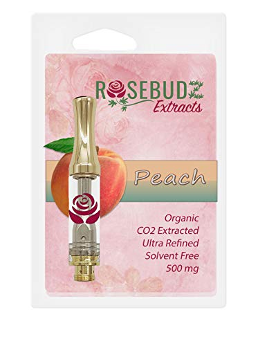 Hemp Oil 500 mg 0.5 ml (1/2 Gram) Cartridge Flavor: Peach