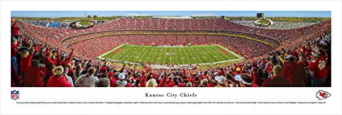 (Kansas City Chiefs - 50 Yard Line at Arrowhead Stadium - Panoramic Print )