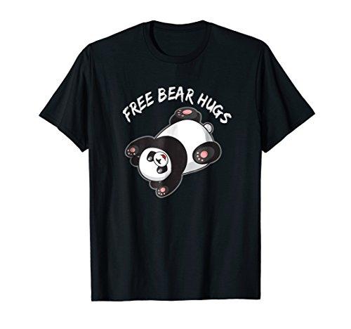 Honey Bear Hugs - Cute Panda Free Bear Hugs Tee, Sweet Gift Idea Bear Lover