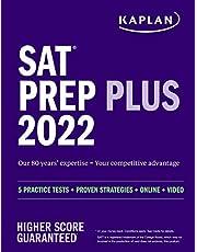 SAT Prep Plus 2022: 5 Practice Tests + Proven Strategies + Online + Video