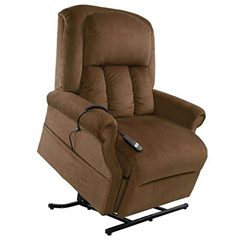 - Mega Motion Easy Comfort Superior - Heavy Duty Lift Chair - Walnut (curbside delivery)