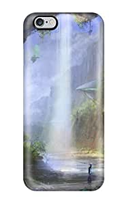 Fashion Protective Fantasy Waterfall Case Cover For SamSung Galaxy S6