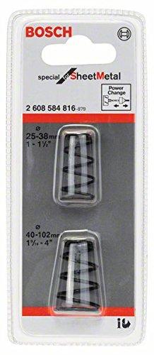 Bosch 2 608 584 816 Resortes eyector, Set de 2 Piezas 2608584816