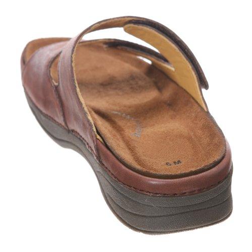 Drew Shoe Mujeres Milan Sandal Brown